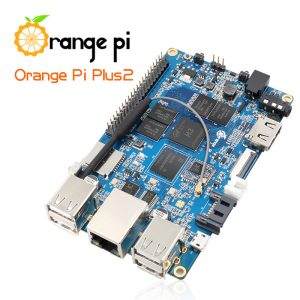 Orange Pi Plus 2 H3 Quad Core 1.6GHZ 2GB RAM 4K