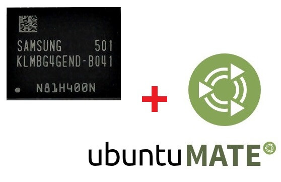 Запись образа ubuntu на emmc памяти banana pi m micropi
