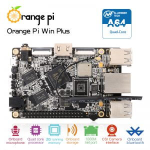 Orange Pi Win Plus - A64 Quad-core ARM Cortex-A53