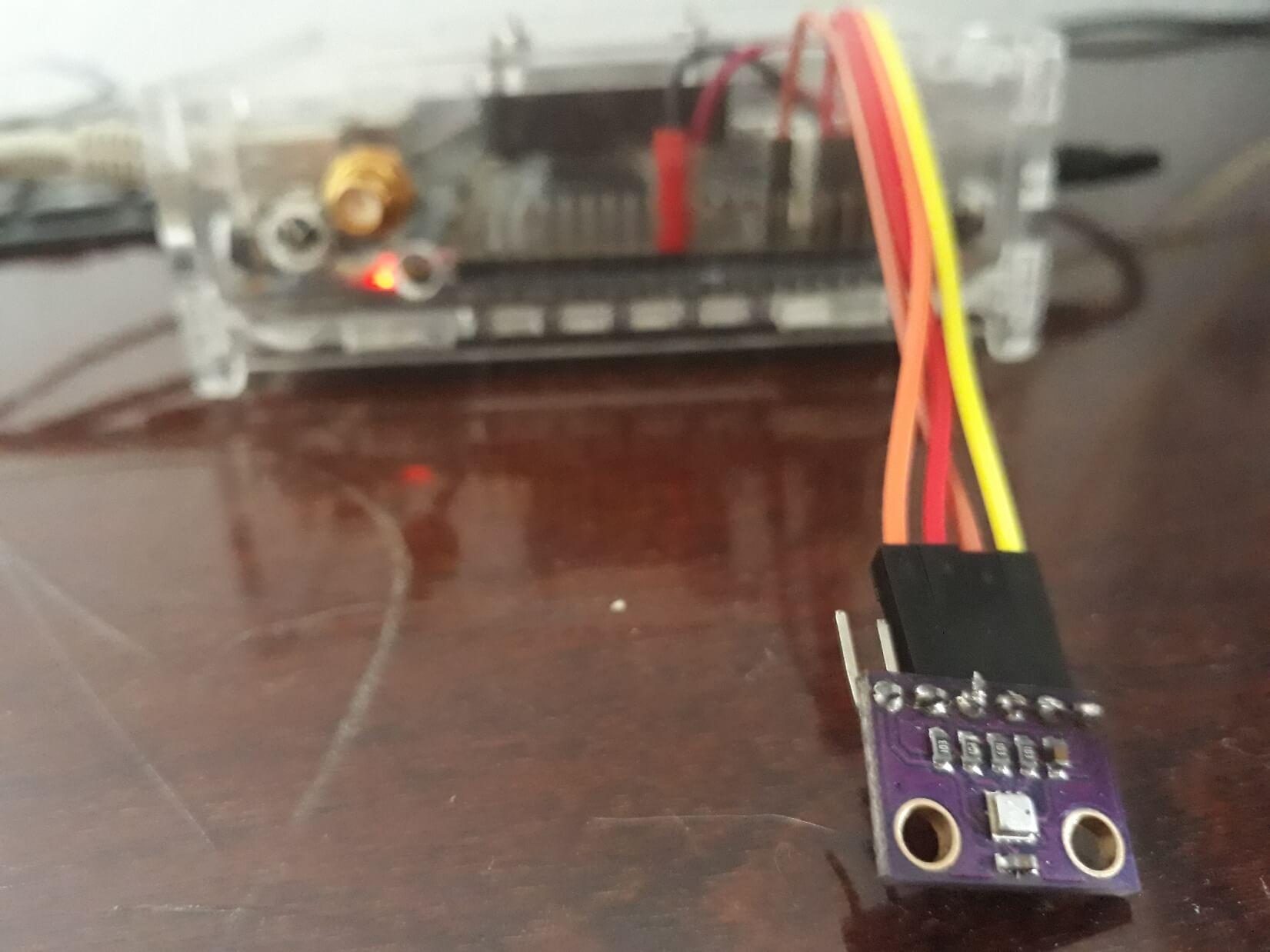 Подключение BME280 к Orange Pi, Banana Pi, Raspberry Pi - MicroPi
