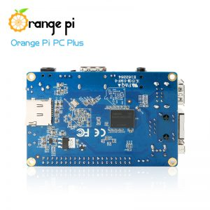 Orange Pi PC Plus - улучшеный Orange PI PC с EMMC Flash на 8 Гб и Wi-Fi