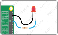Raspberry Pi и Pi4J. Урок 1. Мигающий светодиод