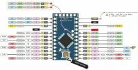 Arduino Pro mini pinout (распиновка)