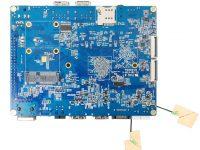 Orange Pi RK3399 - одноплатный мини ПК на базе RK3399 - вид снизу
