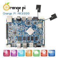 Orange Pi RK3399 - одноплатный мини ПК на базе RK3399