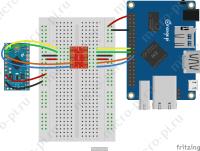 Raspberry Pi и Pi4J. Урок 6. SPI - Подключение Orange Pi One к Arduino по SPI