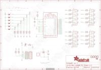 Принципиальная схема PCA9685 adafruit