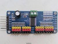 Распиновка модуля на PCA9685