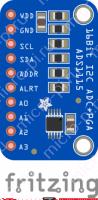 ADS1115 - Выводы АЦП модуля
