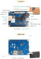 Orange Pi 3G-IOT-A c 256 МБ - Технические характеристики