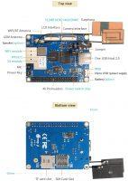 Orange Pi 3G-IOT-B c 512 МБ - Технические характеристики