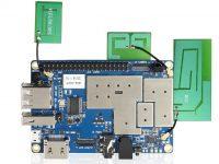 Orange Pi 4G-IoT – одноплатный ПК с 4G, 1 ГБ ОЗУ и 8 ГБ eMMC - вид сверху