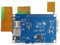 Orange Pi 4G-IoT – одноплатный ПК с 4G, 1 ГБ ОЗУ и 8 ГБ eMMC - вид снизу
