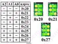 Подключение LCD1602 к Arduino по I2C (HD44780-PCF8574) - Выбор адресации