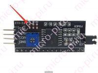 Подключение LCD1602 к Arduino по I2C (HD44780-PCF8574) - адрес