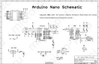 Arduino Nano V2.3 - Принципиальная схема