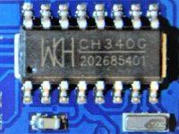 Arduino Nano CH340G Rev3 - USB-TTL мост CH340G