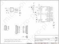Arduino Pro Mini - Принципиальная схема