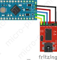 Arduino Pro Mini + FT232RL - Подключение платык ПК