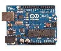 Arduino Uno Rev3 - вид сверху