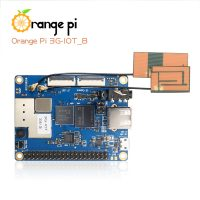 Orange Pi 3G-IOT-B c 512 МБ, ARM Cortex A7, eMMC, 3G, SIM Card, Bluetooth - вид сверху