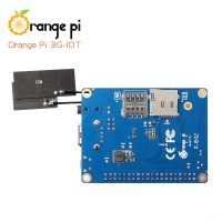 Orange Pi 3G-IOT-B c 512 МБ, ARM Cortex A7, eMMC, 3G, SIM Card, Bluetooth - вид снизу