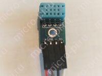 Готовый модуль DHT12 I2C датчик влажности и температуры - Распиновка