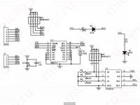 МодульZS-042 на базеRTC DS3231N - Принципиальная схема