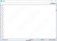 Подключение ультразвукового дальномера HC-SR04 к Arduino - Результат