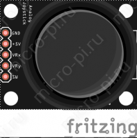 Схема подключения джойстика KY-023 к Arduino - Распиновка