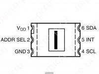 Цифровой датчик освещенности TSL2561 - Распиновка TSL2561