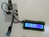 Подключение DHT12 к Arduino и вывод на LCD1602 - Результат