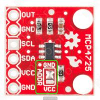 MCP4725 - Система установки I2C адреса