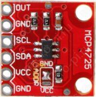 MCP4725 - Цифро-аналоговый преобразователь (ЦАП) - Распиновка
