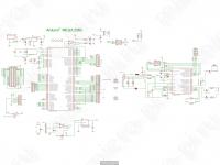 Принципиальная схема - Arduino Mega 2560 Rev 3 (Atmega16U2-MU)