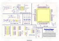 Arduino Mega 2560 CH340G - Принципиальная схема