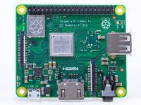 Raspberry Pi 3 Model A+ - Вид сверху