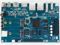 Мультимедийный маршрутизатор Banana Pi W2 - Вид сверху