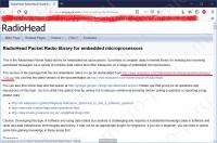 Установка библиотеки RadioHead - Скачиваем библиотеку