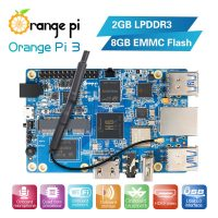 Orange Pi 3 - одноплатный мини ПК на базе Allwinner H6 с PCI Express и USB 3.0