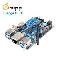 Orange Pi 3 - одноплатный мини ПК на базе Allwinner H6 1ГБ LPDDR3 - Gigabyte Ethernet, USB 3.0, GPIO