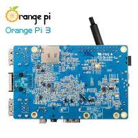 Orange Pi 3 - одноплатный мини ПК на базе Allwinner H6 2ГБ LPDDR3 - вид снизу