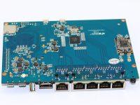 Banana Pi R1 - Вид снизу (HDMI, USB, OTG)