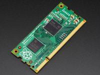 Raspberry Pi Compute Module 1 - «малинка» с размером планки памяти ноутбука