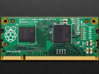 Raspberry Pi Compute Module 1 - вид сверху