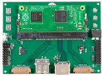 Raspberry Pi Compute Module 1 + Compute Module IO Board, плата расширения