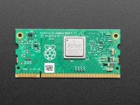 Raspberry Pi Compute Module 3+ - вид сверху