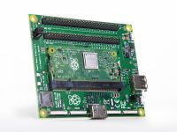 Raspberry Pi Compute Module 3+ и Compute Module IO Board, плата расширения