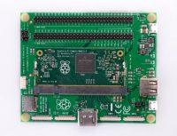 Raspberry Pi Compute Module 3 + Compute Module IO Board, плата расширения