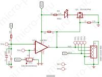 Датчик вибрации Arduino на базе SW-420 (Модуль Grove) - принципиальная схема